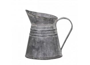 Dekorační plechový retro džbánek Joug - Ø 10*8 cm