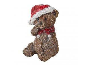 Dekorace vánoční medvídek - 9*8*12 cm