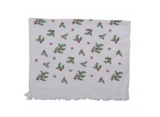 Kuchyňský froté ručník s cesmínou - 40*66 cm