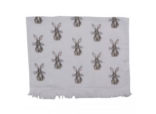 Kuchyňský froté ručník s králíčky - 40*66 cm