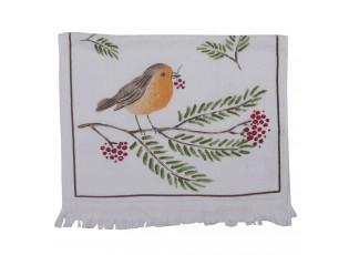 Kuchyňský froté ručník s ptáčkem - 40*66 cm