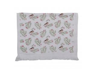 Kuchyňský froté ručník s větvičkami - 40*66 cm