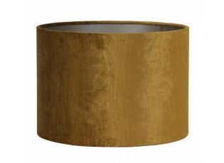 Zlaté sametové stínidlo na lampu Gemstone - Ø 40* 30cm/ E27