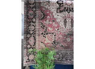 Černo-malinový koberec Vintage - 160*230cm