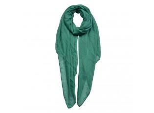 Zelený lehký šátek - 80*180 cm