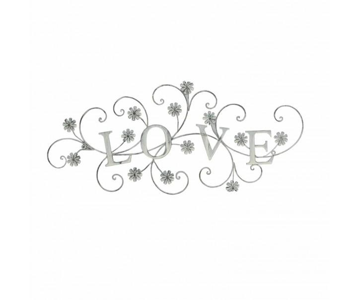 Závěsná dekorace LOVE - 75*34 cm