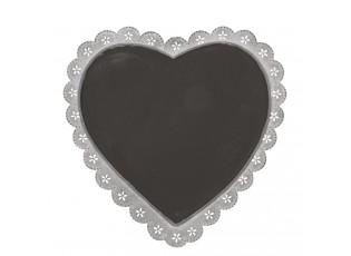 Memo tabule ve tvaru srdce - 33*34 cm