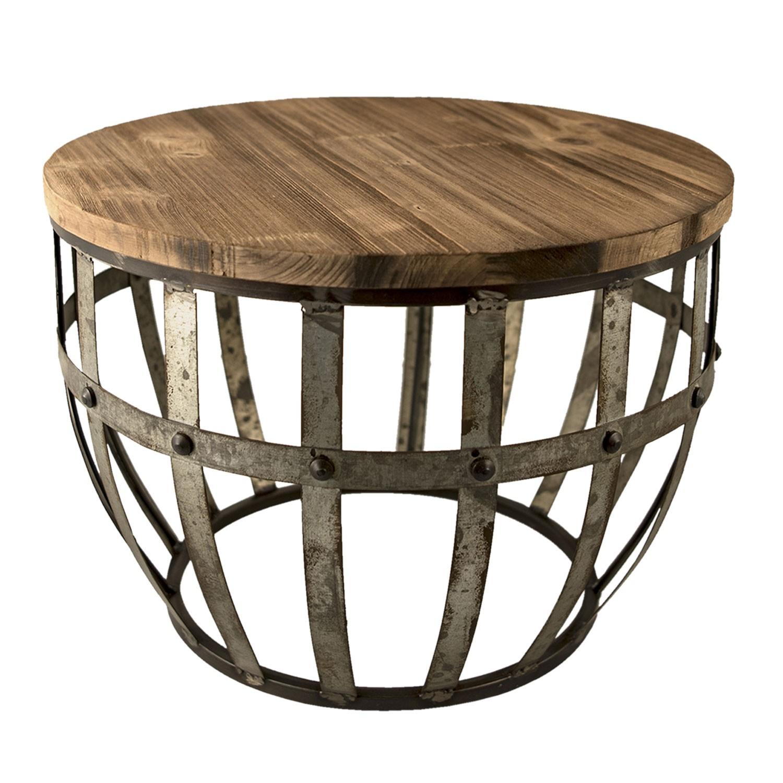 Kovový stolek
