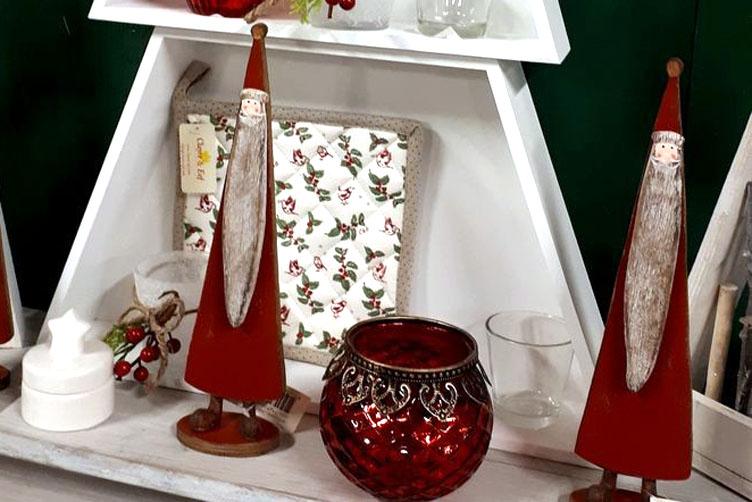 Vánoční lampy a svícny