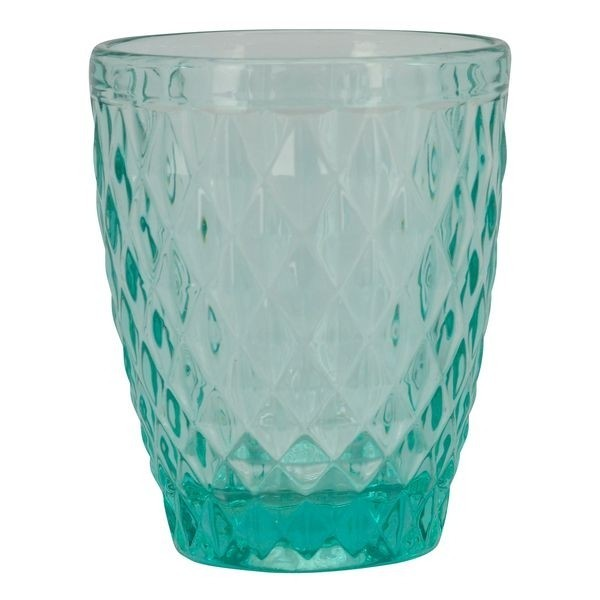 Tyrkysová sklenička Verrerie I