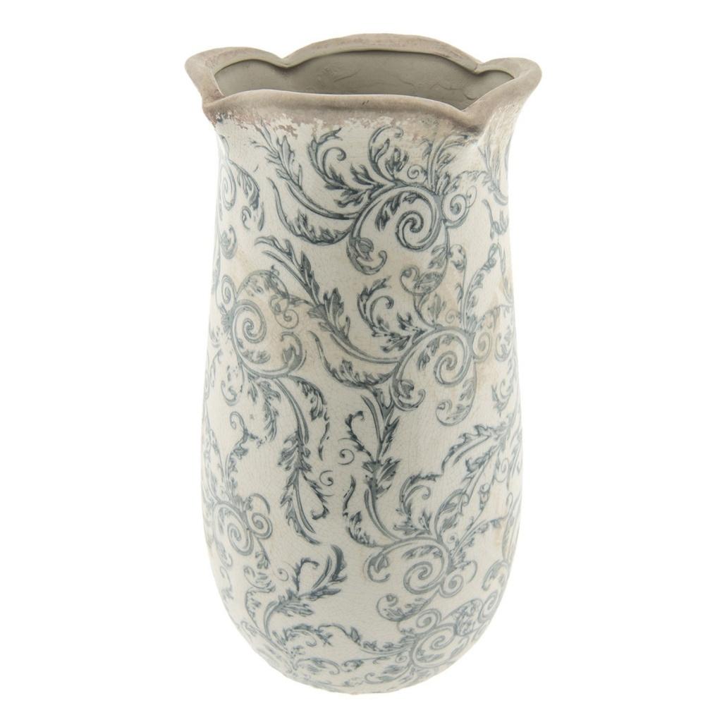 Dekorační váza retro flower